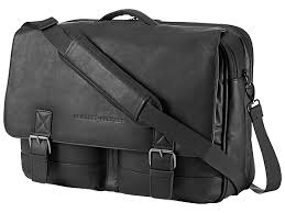 HP 14 Executive Leather Messenger (K0S31AA)