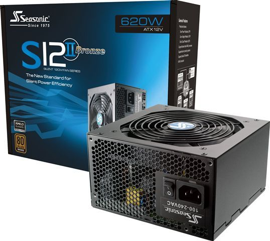Seasonic SS-620GB, 620W