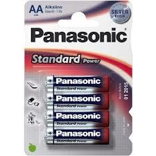PANASONIC baterije LR6EPS/4BP Alakline Standard Power