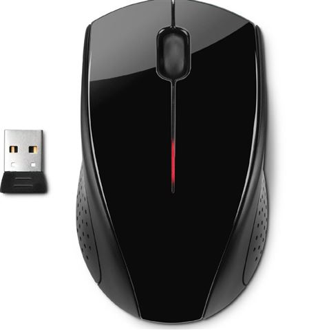NOT DOD HP Mouse X3000, Wireless Optical, H2C22AA