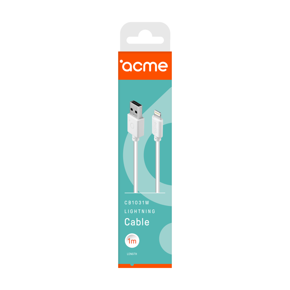 Acme CB1031 Lightning cable 1m