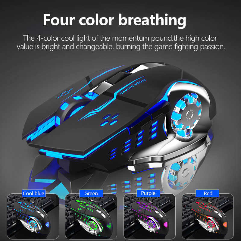 AULA SC100 RGB Wireless Gaming mouse